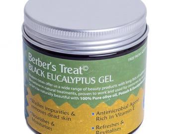 Black Eucalyptus Cleansing Gel - Moroccan Beldi Spap - 200ML