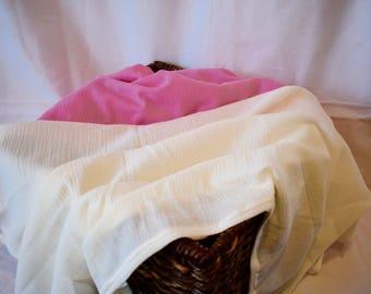 Sheer Breathable Baby Blanket
