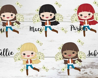 Pay Day // Planner Girl //Deco Planner Stickers // 027