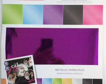 Metallic Paper Pack