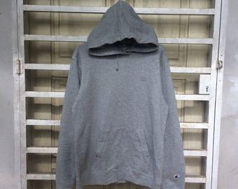 Vintage Champion Woman's  Rare Hoodie Sweatshirt Size X Large