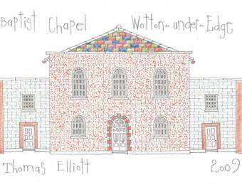 Baptist Chapel in Wotton under Edge