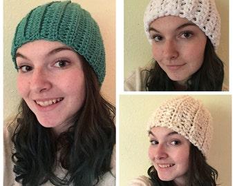 Ribbed Crochet Beanies!