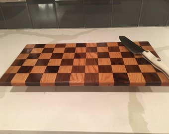Checkered Cutting Board