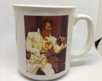 Vintage Elvis Coffee Cup