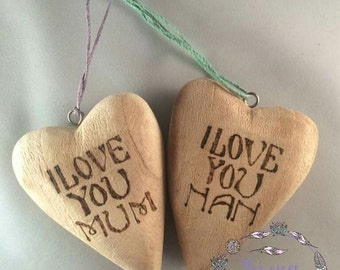 Mother's Day, Valentines Day, 3D Heart, Custom gifts, Personalised Gifts, Mum, Gifts for Mum, Gifts For Her, Gifts For Him