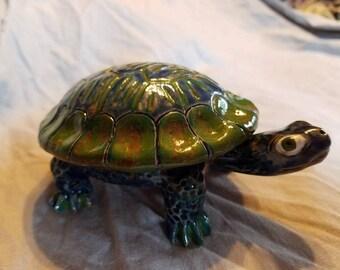 Turtle Jewelry Trinket Dish