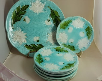 Villeroy & Bach Majolica Charger and 7 Plates