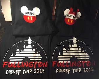 ADULT Custom Family Disney Trip