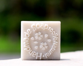 100 % Natural Handmade Soap Resin Soap Stamp