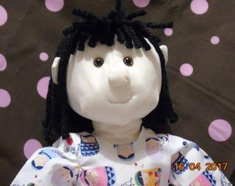 Heirloom rag doll