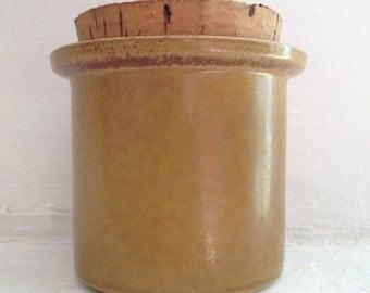 Vintage Swedish Design Gustavsberg Mustard jar by Stig Lindberg