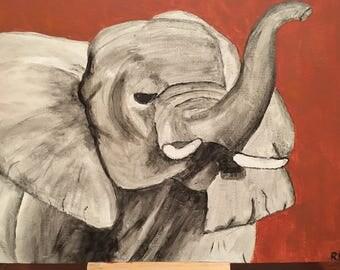 Elephant Painting - MTO