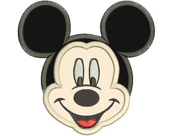Mickey Mouse Disney Embroidery Applique Design