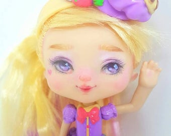 OOAK Shoppies Shopkins Pam Cake Doll Repaint with Accessories
