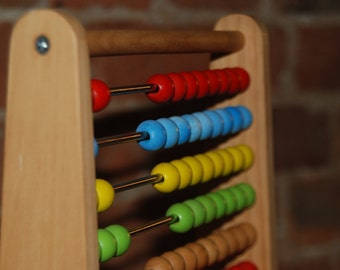 Vintage - Children's Abacus