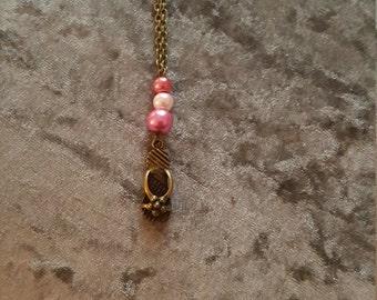 flip flop charm necklace
