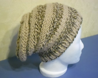 Beany slouchy hat