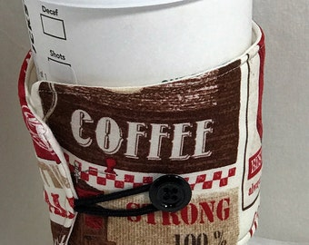 Cup sleeve mug caddy coffee cup holder cold drink cozy water bottle cozy