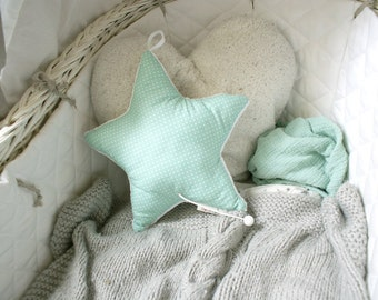 Musical star cushion