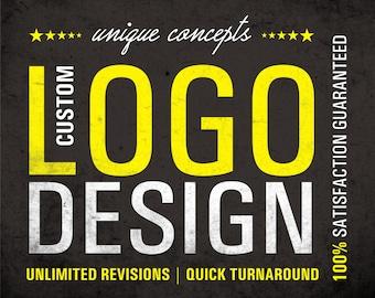 Unique Logo, Custom Design Logo, Logo Design, Logo Design Custom, Creative Logo, Ooak Logo, Logo Service, Business Logo, 3 Unique concepts