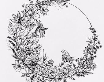 Wildflower Stationary Set