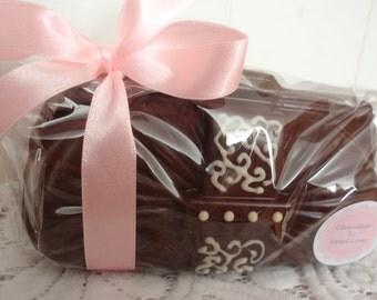Handmade Belgian Chocolate Clutch Bag