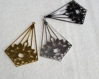 Filigree Earring Drops
