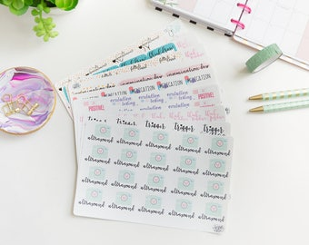 Infertility Tracking Stickers