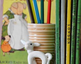 SylvaC dainty lamb posy vase