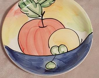 Vintage Bella Ceramica Alfresco Dinnerware ~ Pasta/Soup Bowl