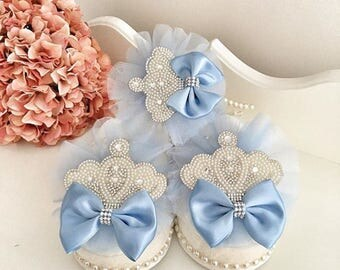Personelized mother slippers, wedding slippers, Headband
