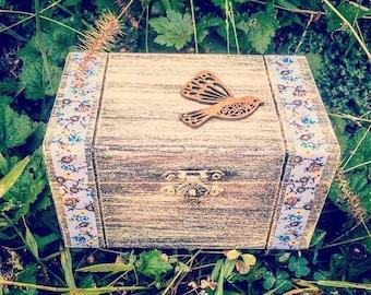 Boho Country Bird Keepsake Box