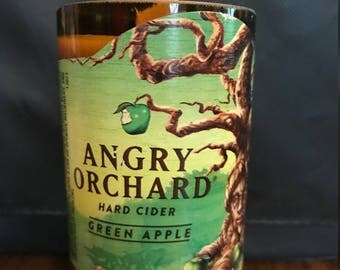 Angry Orchard Green Apple Soy Candle
