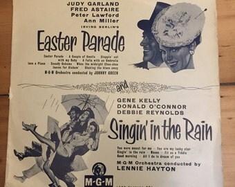 "Easter Parade & Singin' In The Rain - Original Soundtrack - 10"" Vinyl (Gene Kelly / Debbie Reynolds / Judy Garland / Fred Astaire)"