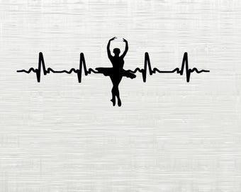 Dance SVG, Ballet svg cutfile,dancer SVG files for cricut, ballet dancer svg cricut cameo silhouette cutfiles