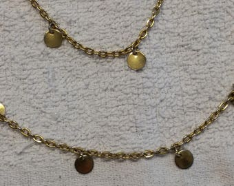 """Gold filled 52"""" Necklace"""
