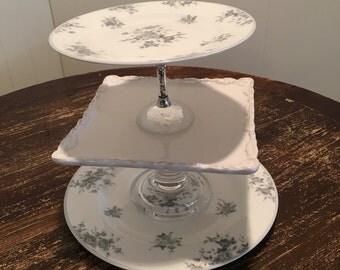 Three-tier Elegant Cake stand