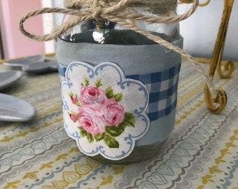 Shabby Chic Mason Jar