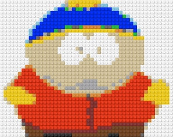 LEGO Custom Art Mosaic - Eric Cartman