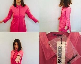 Jil sander new pink dress