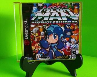 Megaman Ultimate collection Sega Dreamcast Back up home brew .