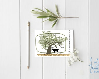 Greek Solo Goat  Postcard