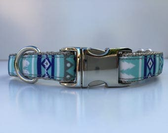 Mexican blue dog collar