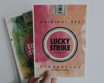 The Lucky Strike Prints