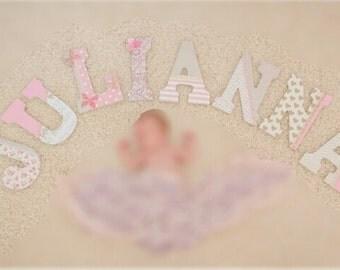 Baby Girl Nursery Letters