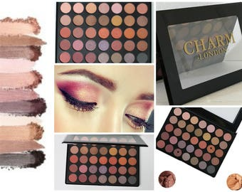 Charm London Online Exclusive Matte and Shimmer 35 Colour Eye Shadow Palette