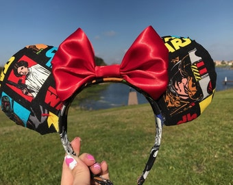 MIckey Mouse Star Wars Ears