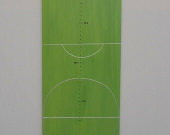 Football field, measuring bar