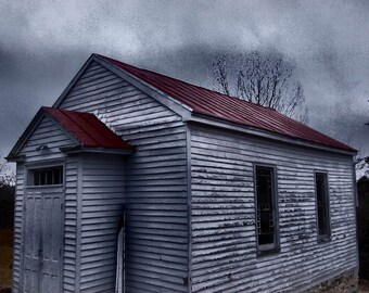 Country Church Photography, Rustic Church Photography, Church Photograph, White Church, Abandoned Church Photography, Abandoned Places,